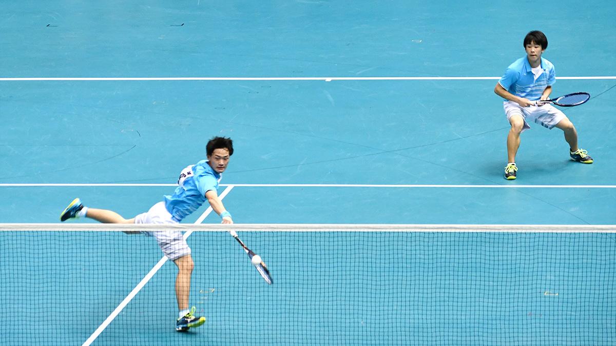 平成29年度(2018)全日本高等学校選抜ソフトテニス大会,東北,小倉・檜山
