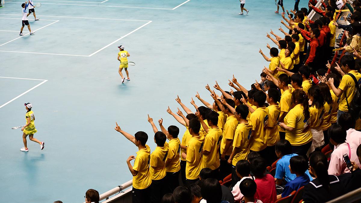 平成29年度(2018)全日本高等学校選抜ソフトテニス大会,女子優勝,三重