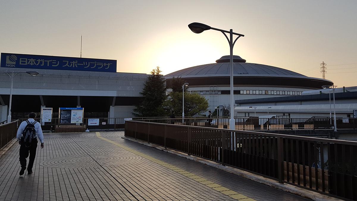 愛知県名古屋市,日本ガイシスポーツプラザ