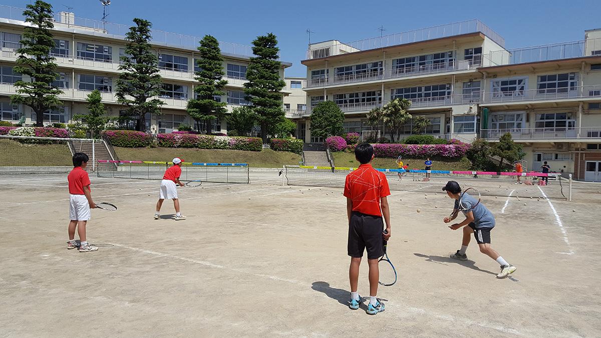 部活動外部コーチ,ソフトテニス