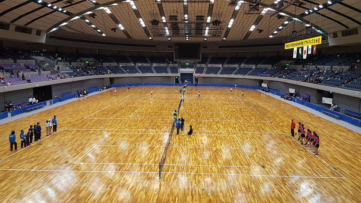 平成29年度(第29回)都道府県対抗全日本中学生ソフトテニス大会,三重県営サンアリーナ