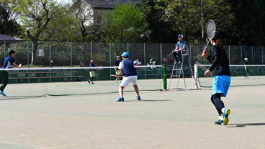 所沢ミックスオープンソフトテニス大会,北野総合運動公園テニスコート