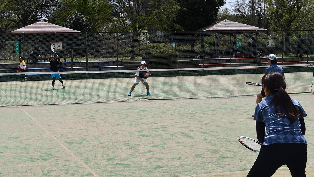所沢ミックスオープンソフトテニス大会,北野総合運動場,所沢TC