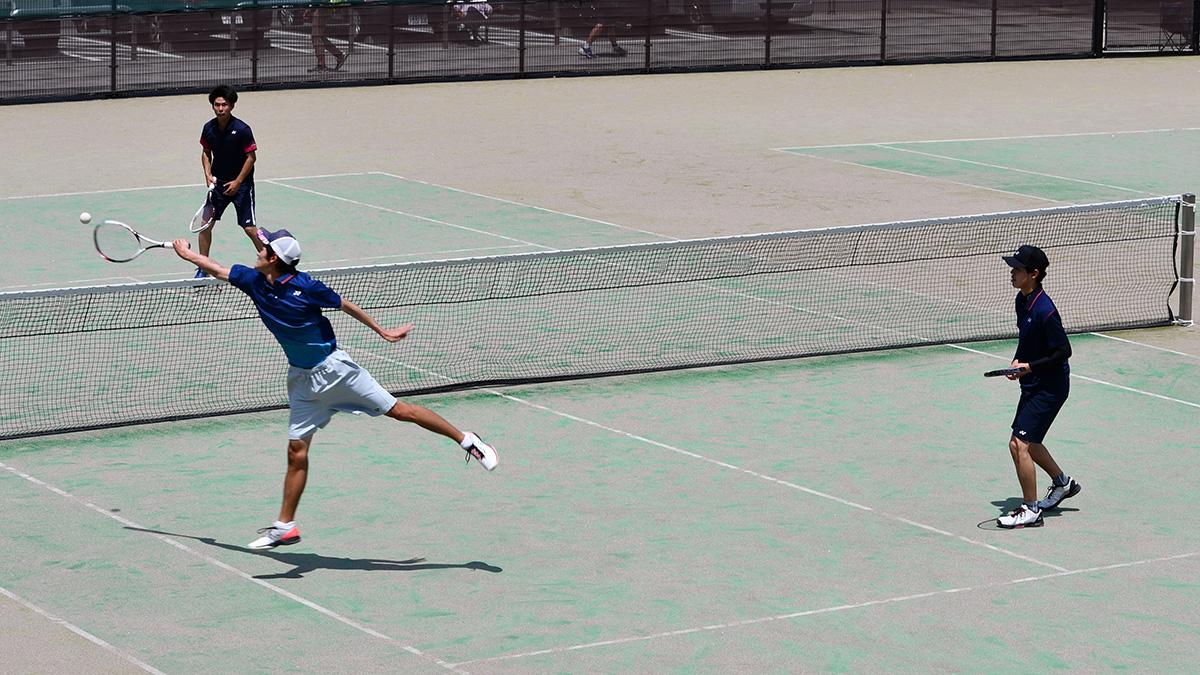 関東オープンソフトテニス大会,早稲田大学