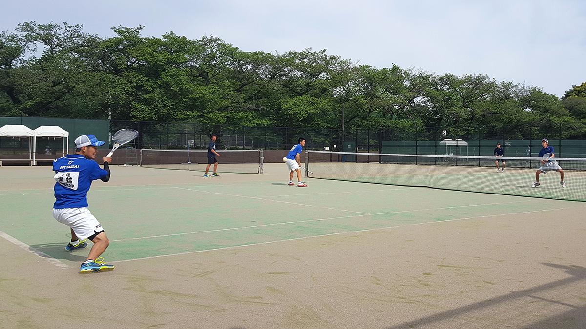 関東オープンソフトテニス大会,早稲田大学,日本体育大学