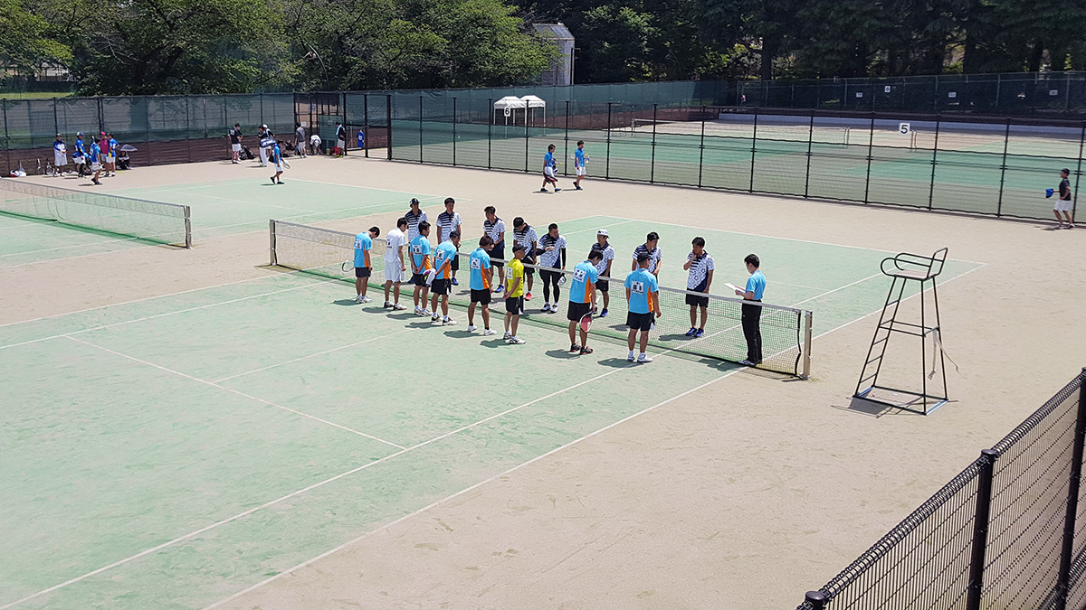全日本実業団ソフトテニス選手権大会,東京都予選会