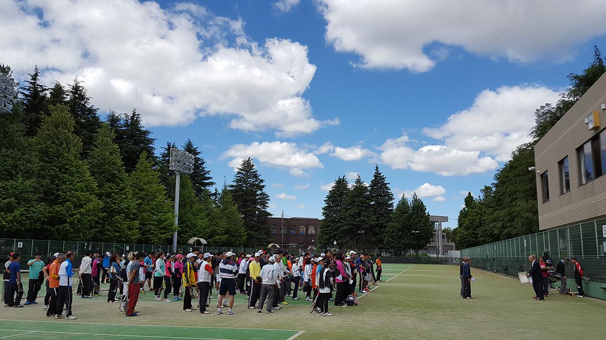 川崎市春季市民ソフトテニス大会,等々力テニスコート