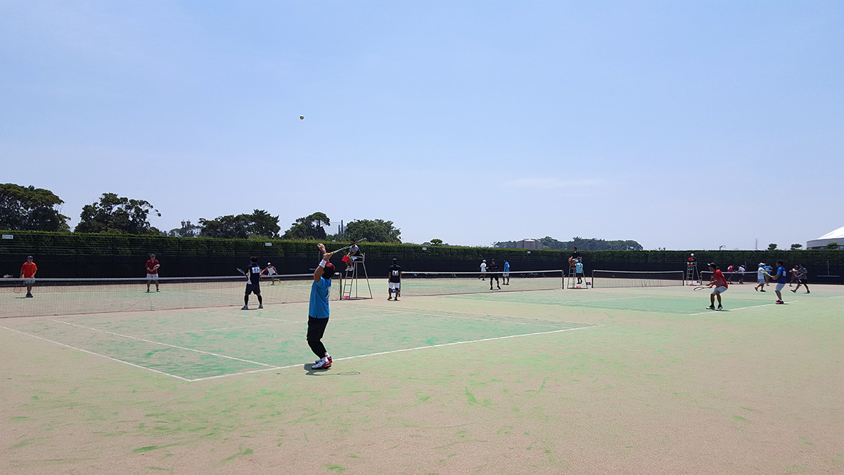 東日本ソフトテニス選手権,神栖海浜公園テニスコート