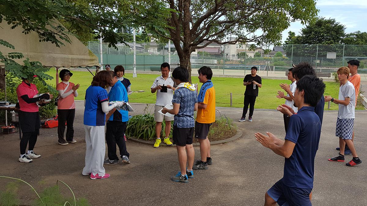 四市ソフトテニス大会,所沢市北野総合運動場テニスコート