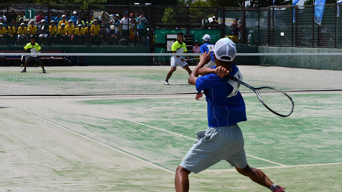 三重高校,東北高校,2018インターハイ,ソフトテニス