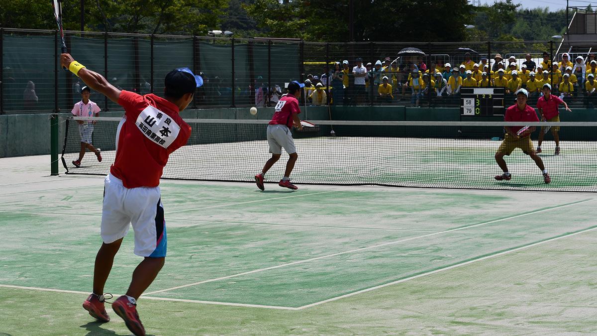 高田商業,2018インターハイ,ソフトテニス