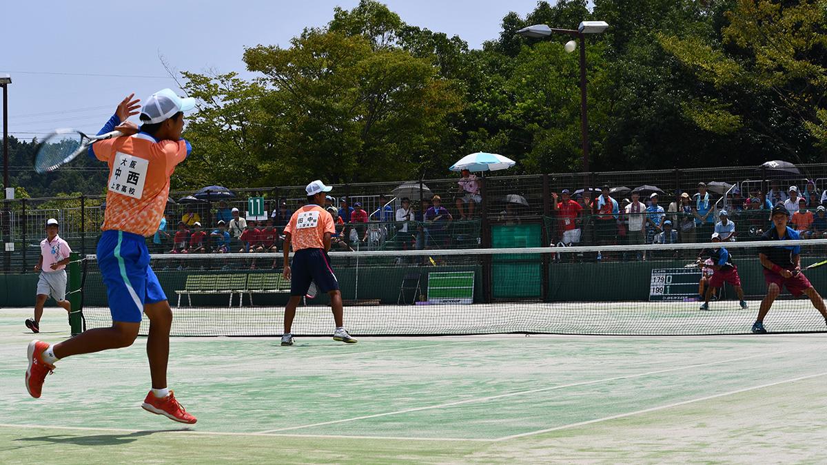 上宮高校,岡山理大附属,2018インターハイ,ソフトテニス