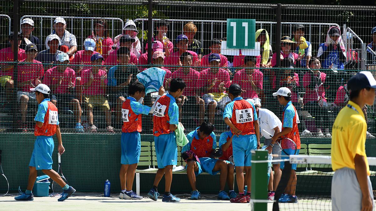 2018インターハイ,ソフトテニス,松江工業