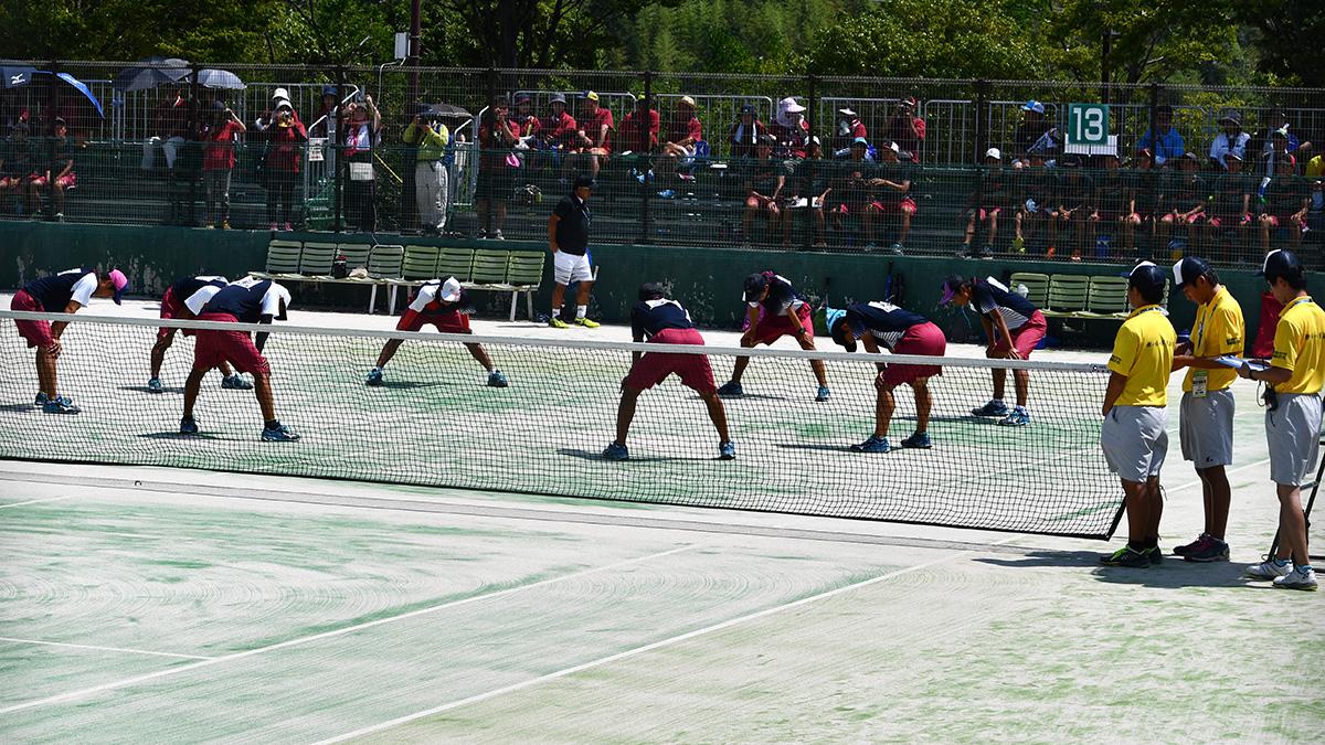 2018インターハイ,ソフトテニス,岡山理科大附属