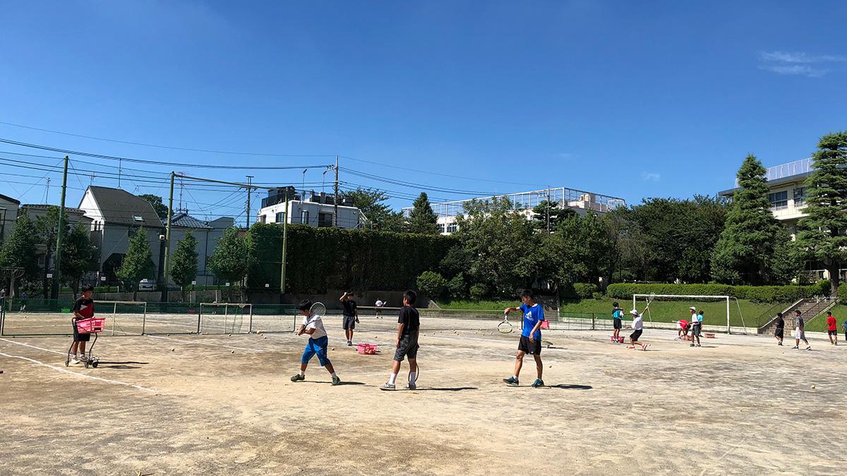 部活動外部コーチ,ソフトテニス部
