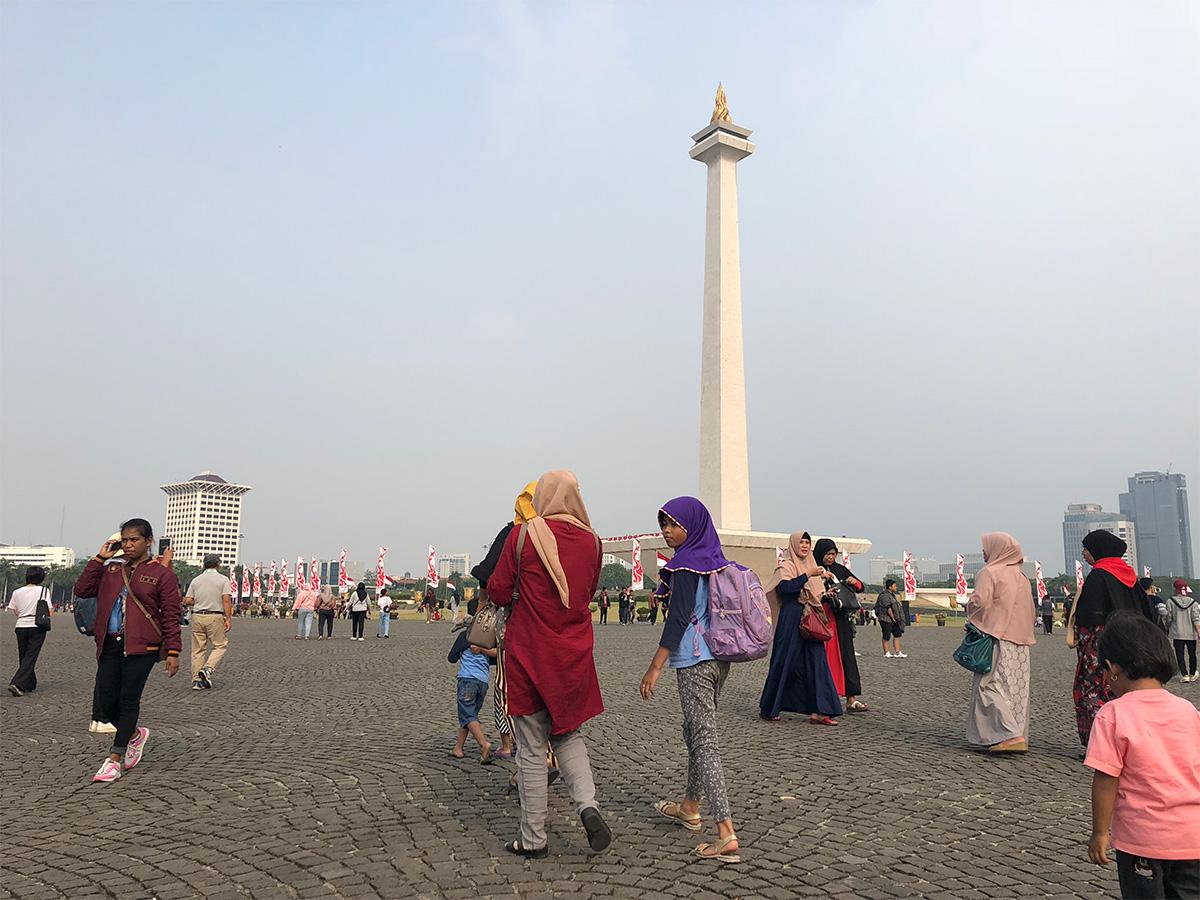 インドネシア独立記念塔,モナス,ジャカルタ,ぶらり旅