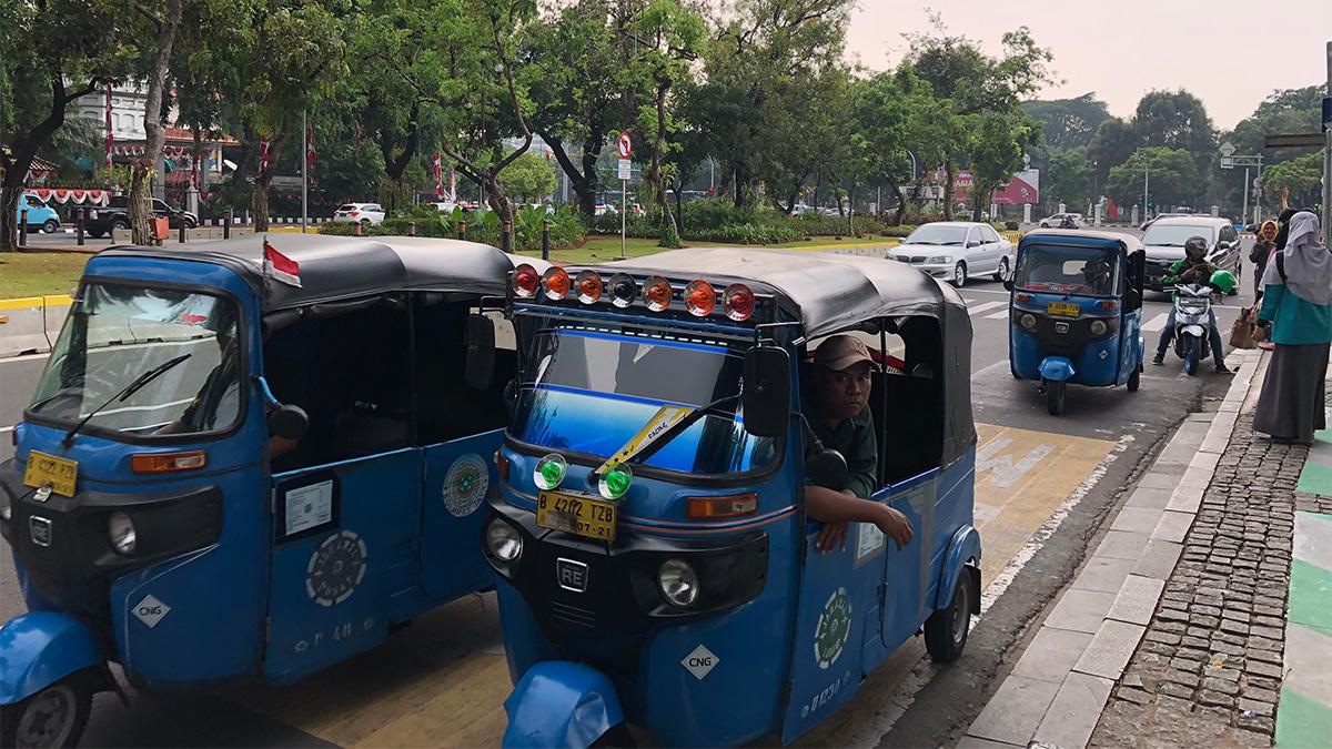 インドネシア,ジャカルタ,タクシー