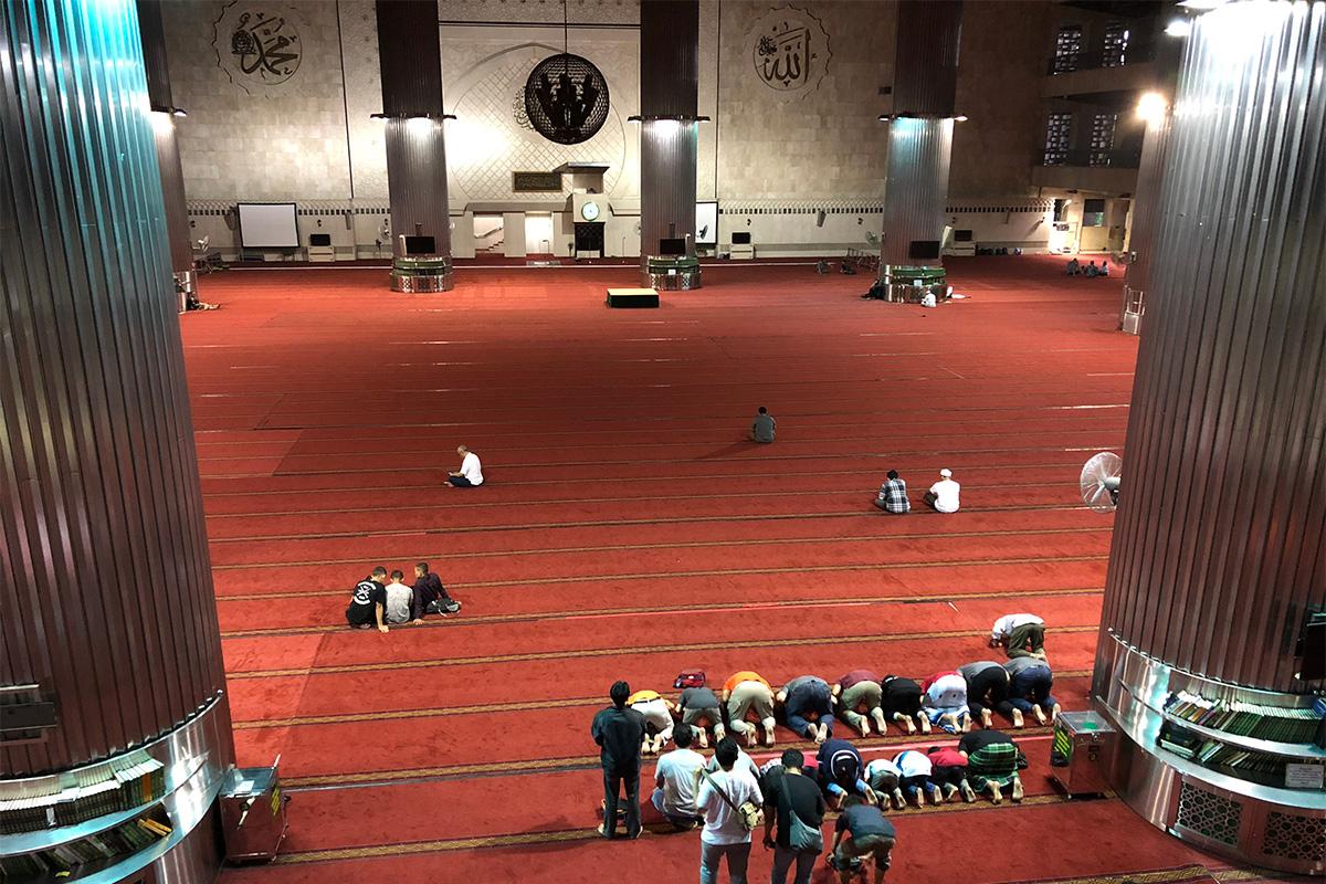 インドネシア,ジャカルタ,イスティクラル・モスク,イスラム教