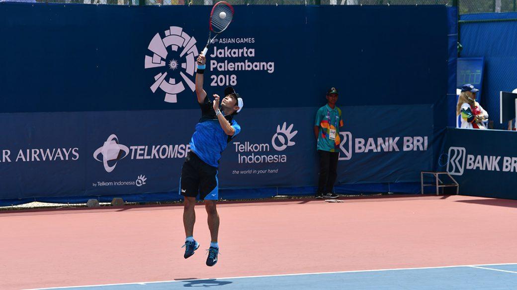 アジア競技大会ソフトテニス競技,asian games2018,長江光一