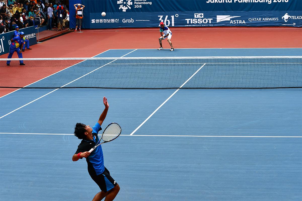 アジア競技大会ソフトテニス競技,asian games2018,船水颯人・キム・ジヌン