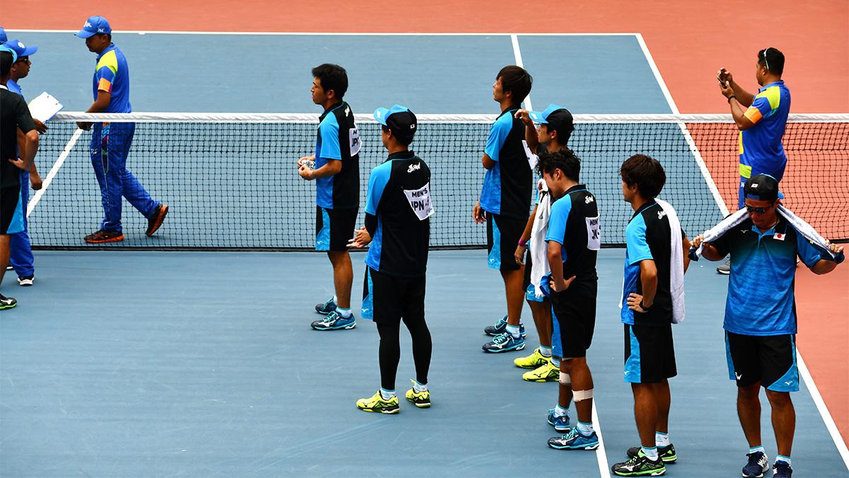 アジア競技大会ソフトテニス競技,asian games2018,国別対抗団体戦,男子日本代表
