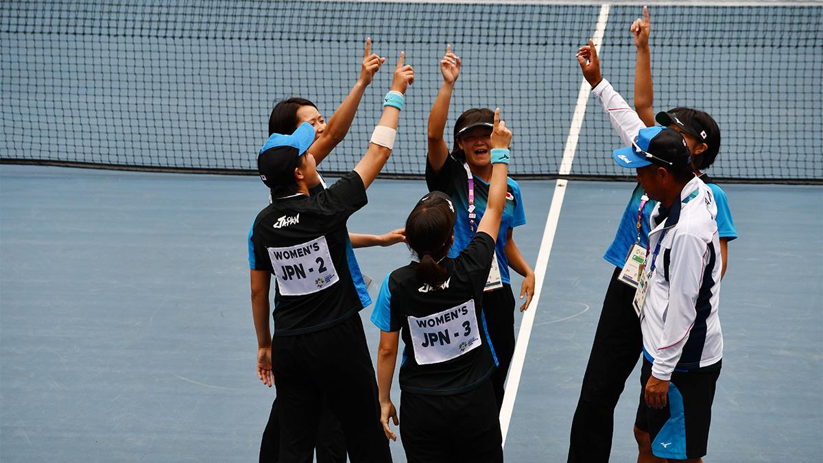 アジア競技大会ソフトテニス競技,asian games2018,国別対抗団体戦,女子日本代表