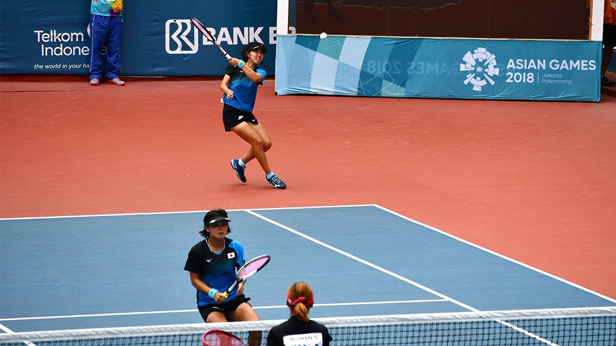アジア競技大会ソフトテニス競技,asian games2018,高橋乃綾・半谷美咲