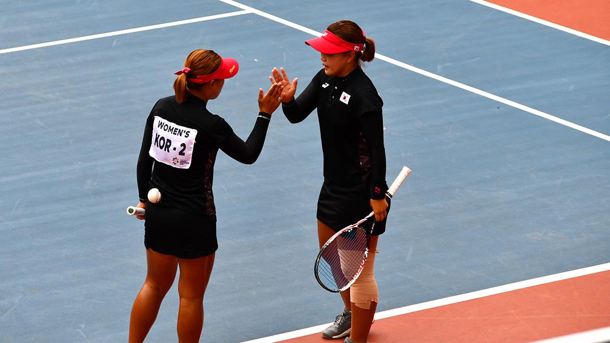 アジア競技大会ソフトテニス競技,asian games2018,ムンヘギョン・