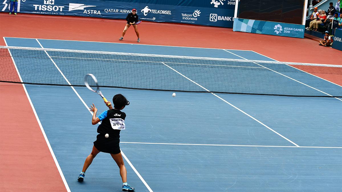 アジア競技大会ソフトテニス競技,asian games2018,国別対抗団体戦,尾上胡桃・キムジヨン