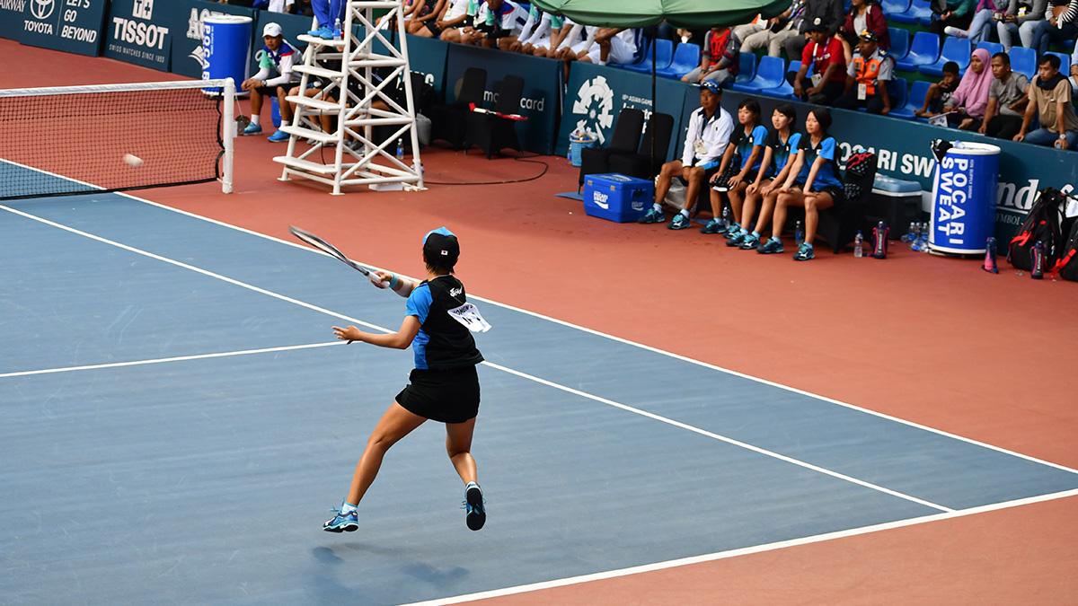 アジア競技大会ソフトテニス競技,asian games2018,国別対抗団体戦,林田リコ
