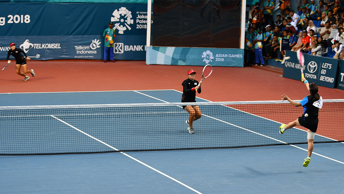 アジア競技大会ソフトテニス競技,asian games2018,国別対抗団体戦,黑木瑠璃華