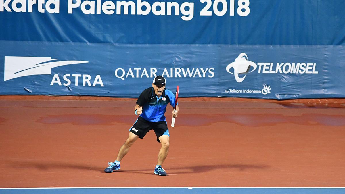 アジア競技大会ソフトテニス競技,日本代表,長江光一