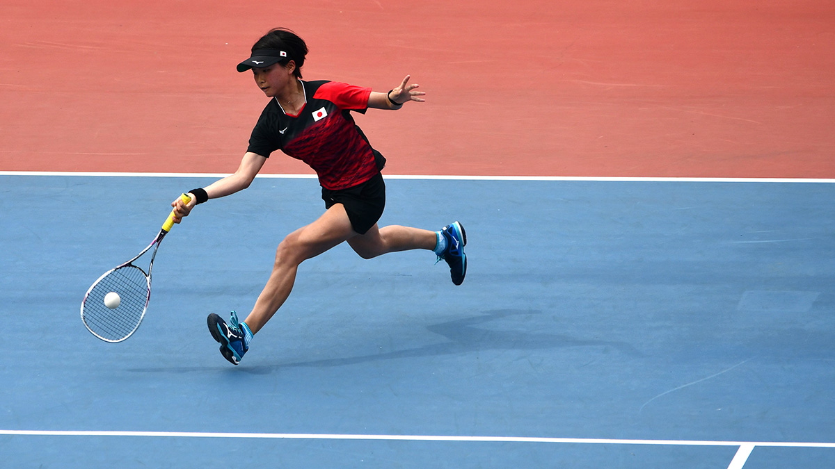 アジア競技大会ソフトテニス競技,日本代表,尾上胡桃