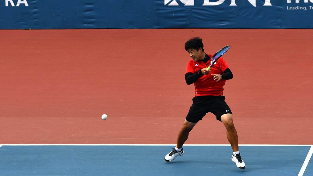 アジア競技大会ソフトテニス競技,韓国代表,キム・ドンフン