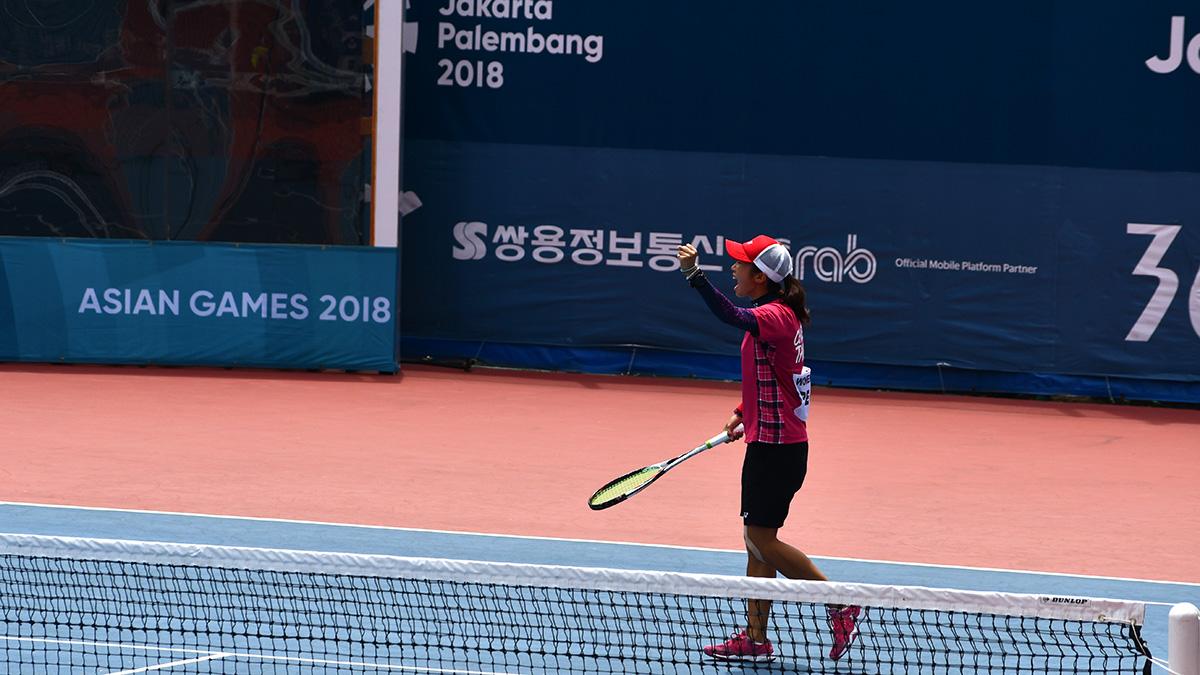 アジア競技大会ソフトテニス競技,台湾代表,鄭竹玲