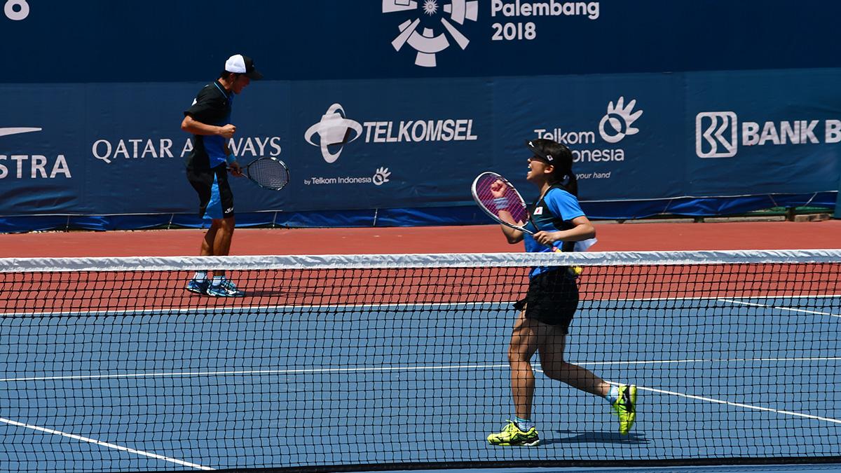 アジア競技大会ソフトテニス競技,asian games2018,増田健人黑木瑠璃華