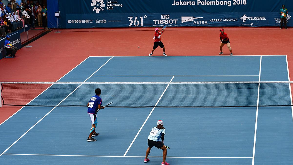 アジア競技大会ソフトテニス競技,ミックスダブルス決勝,韓国,台湾