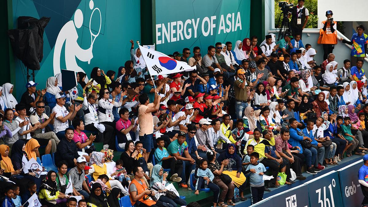 アジア競技大会ソフトテニス競技,asian games2018,韓国