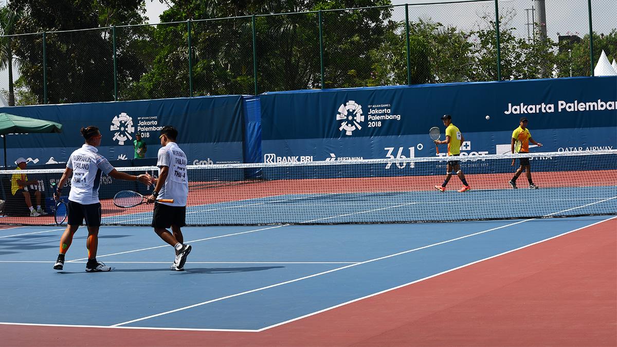 アジア競技大会ソフトテニス競技,asian games2018,国別対抗団体戦