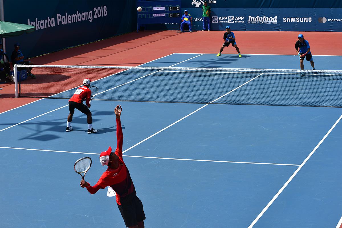 アジア競技大会ソフトテニス競技,日本,インドネシア