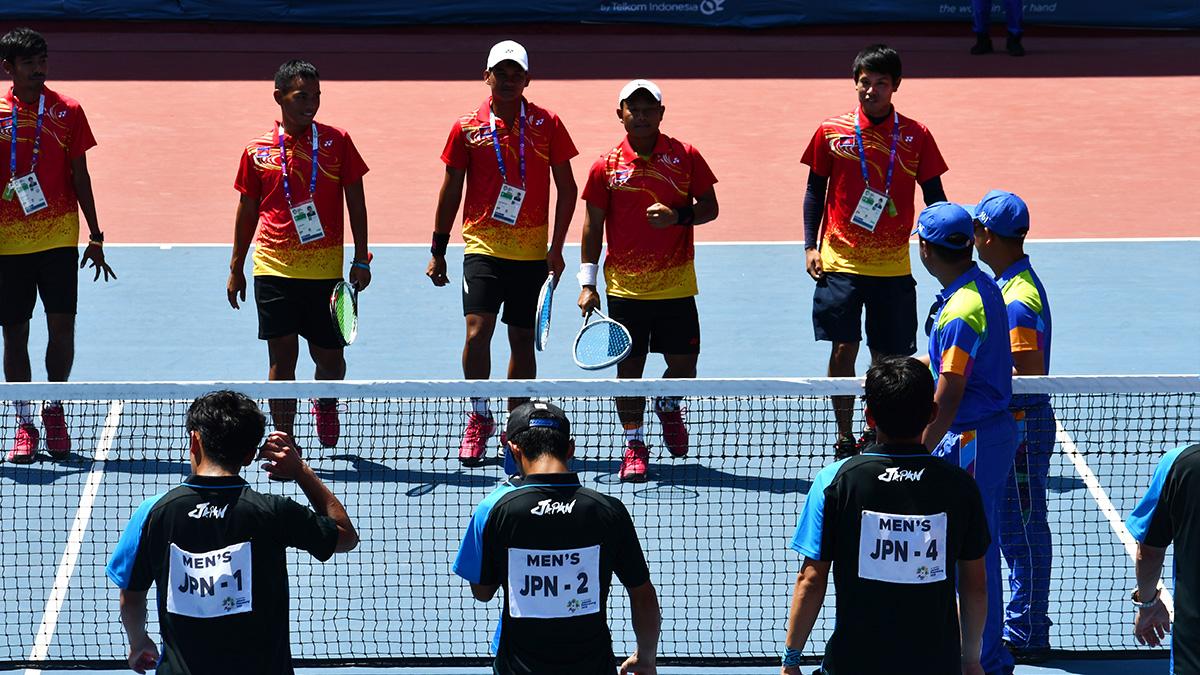 アジア競技大会ソフトテニス競技,日本,カンボジア