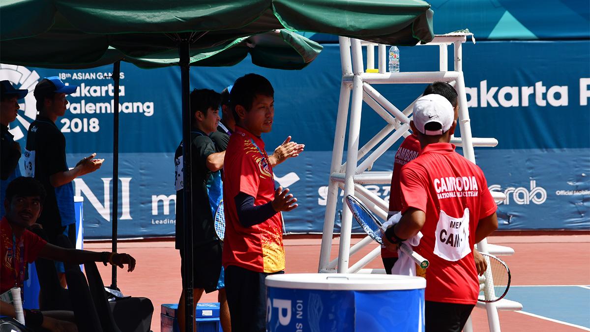 アジア競技大会ソフトテニス競技,日本,カンボジア,荻原雅斗