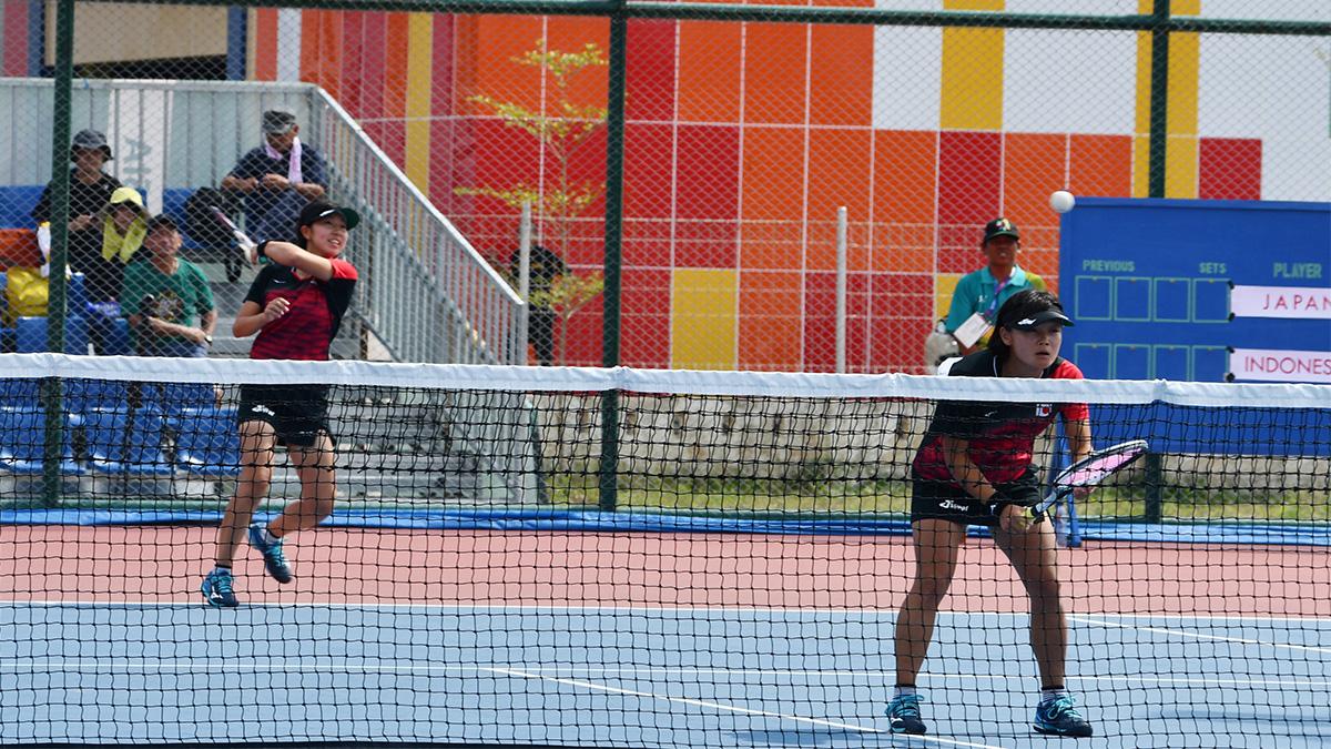 ソフトテニス日本代表,半谷美咲,高橋乃綾