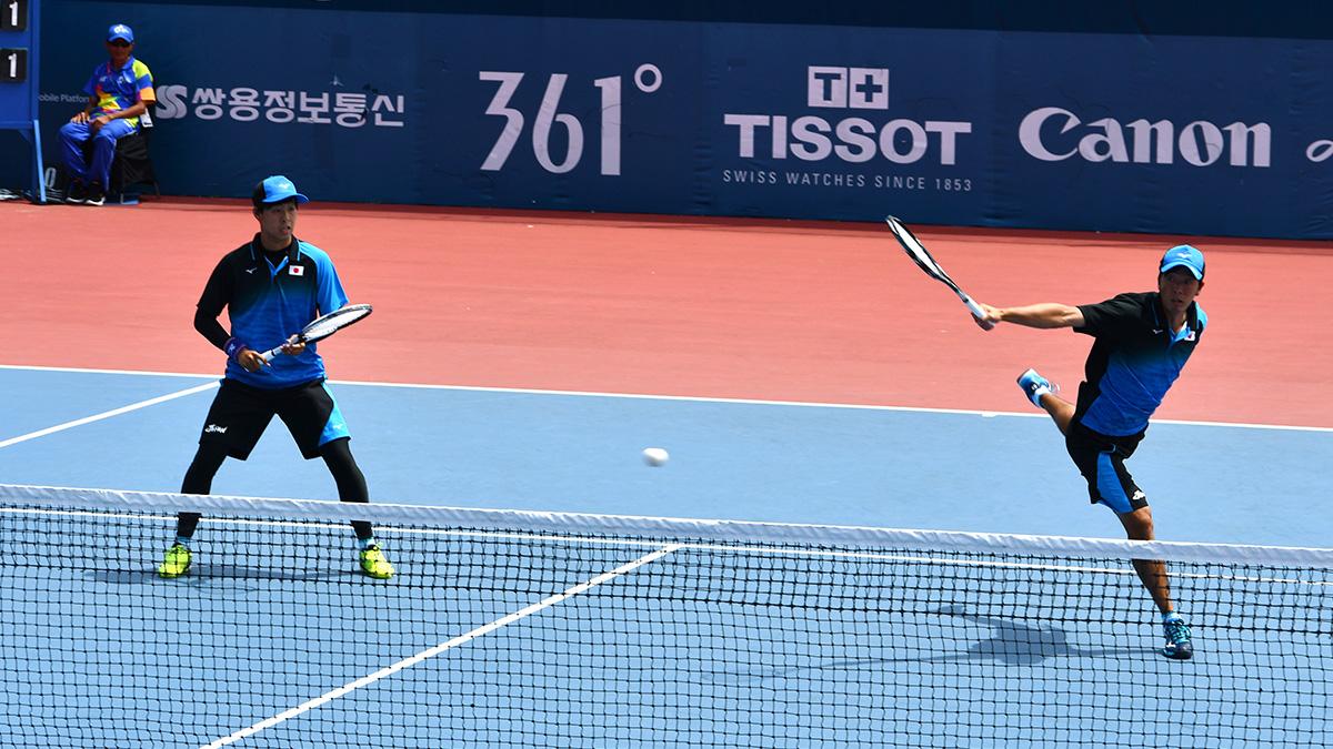 アジア競技大会ソフトテニス競技,日本,増田健人,上松俊貴
