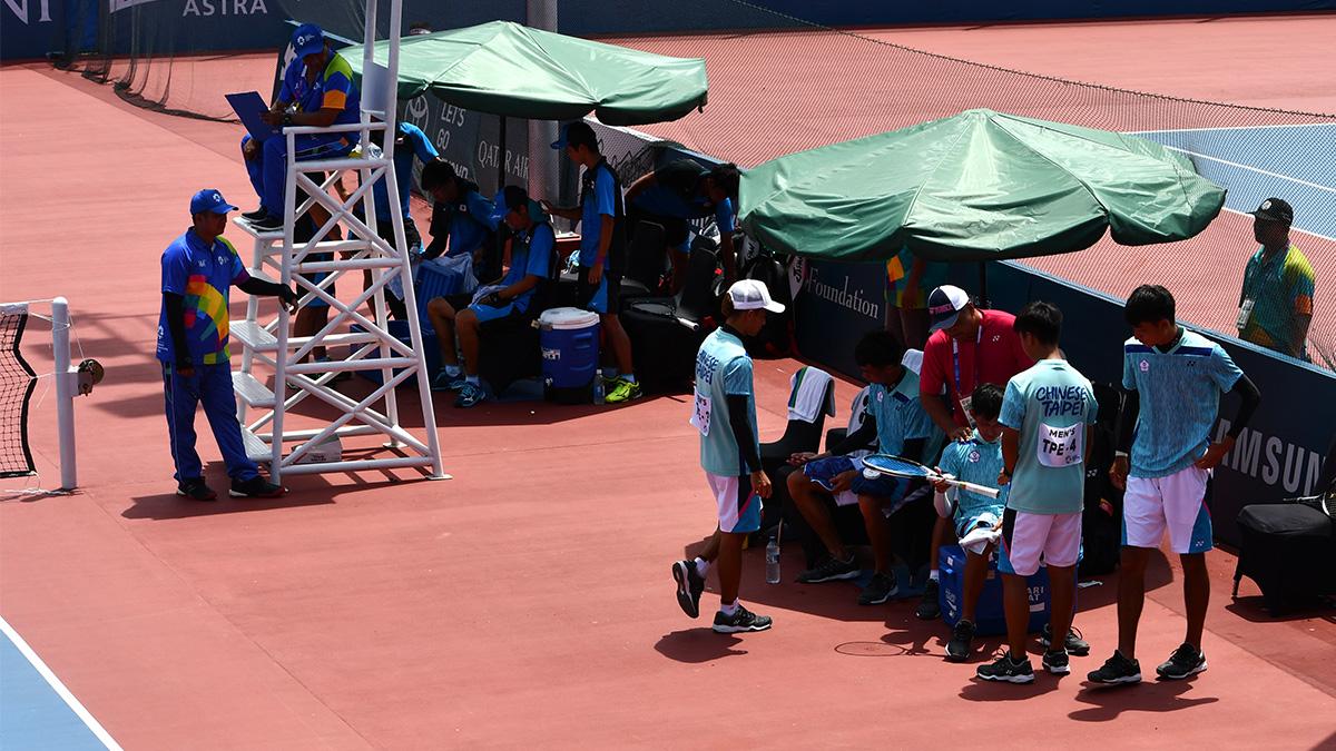 アジア競技大会ソフトテニス競技,日本,台湾(中華台北)
