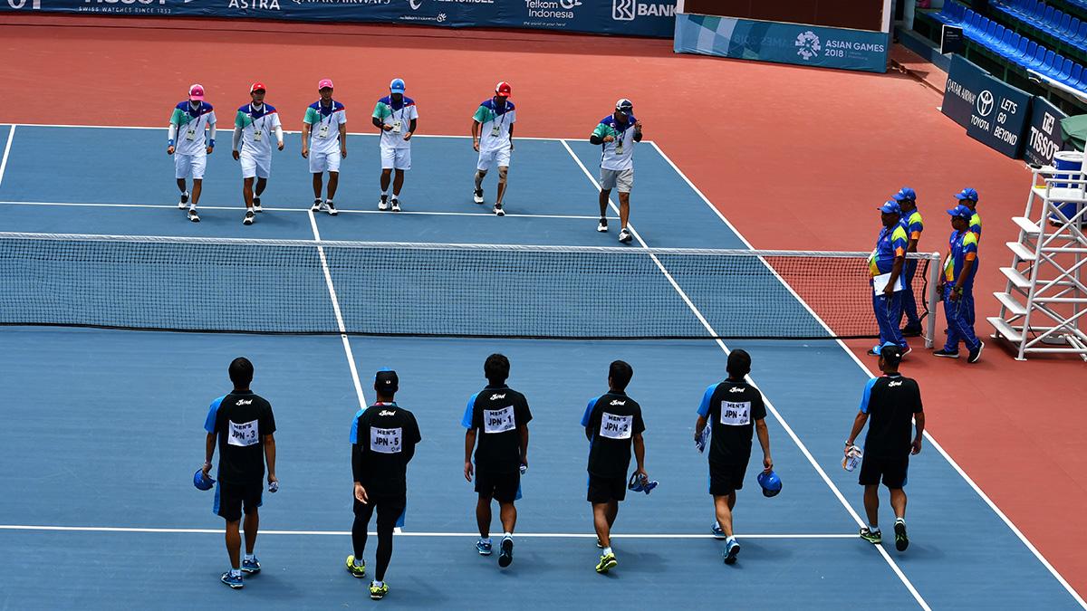 アジア競技大会ソフトテニス競技,国別対抗団体戦,日韓戦