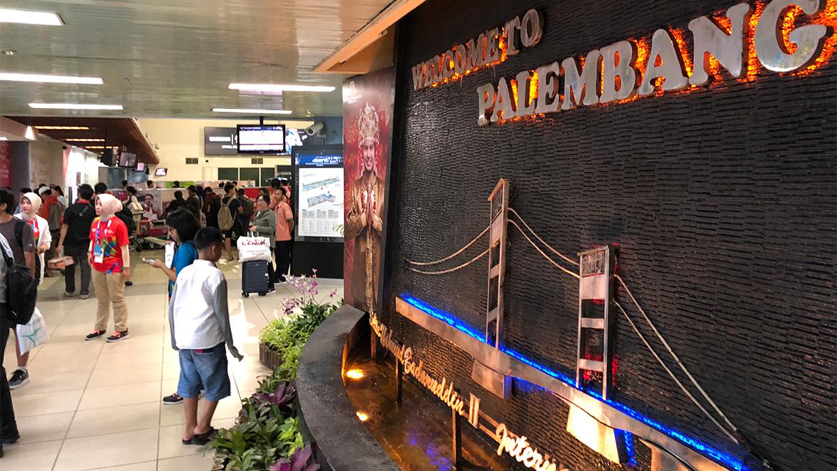 インドネシア,パレンバン,スルタン・ムハンマド・バダルディン2世国際空港
