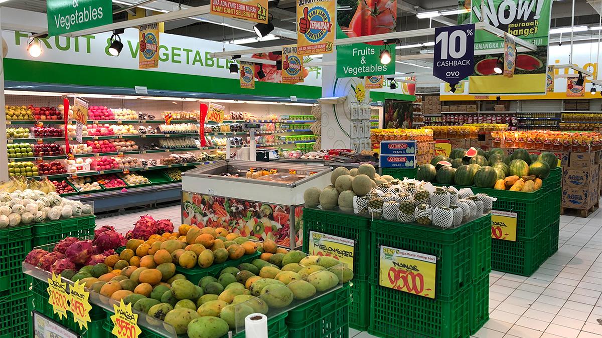 インドネシア,スマトラ島,パレンバン,スーパーマーケット