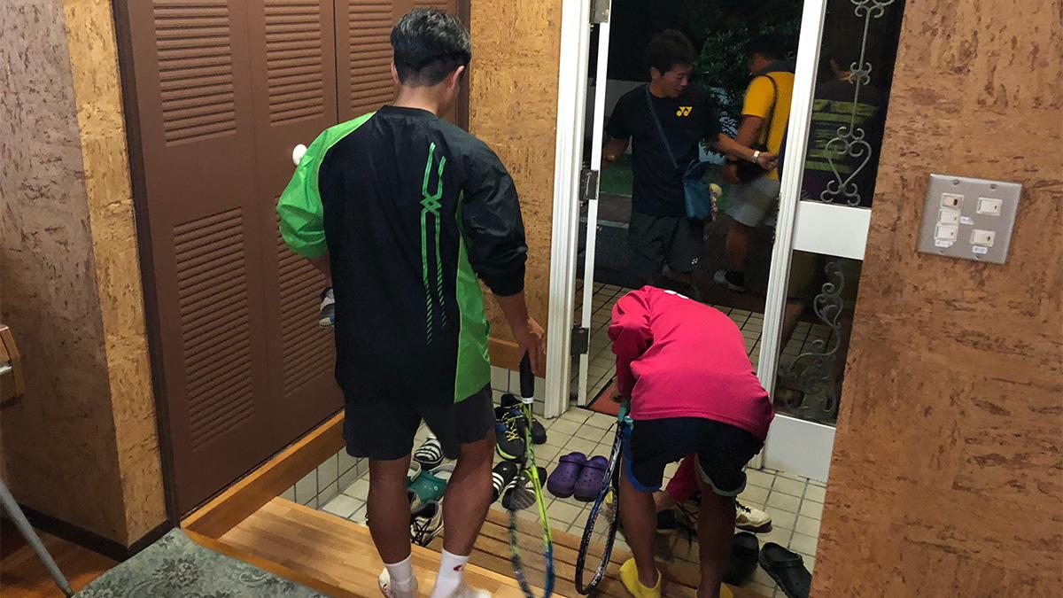 ソフトテニつ部合宿,ソフトテニス,大人