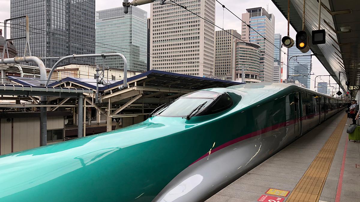 東北新幹線はやぶさ,東京駅